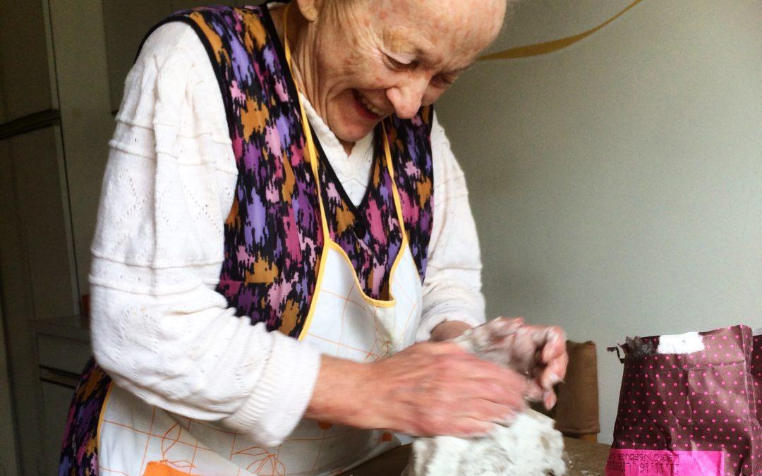 Grandma's recipes. Krapi.